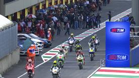 Jorge Lorenzo continued to set the pace in Saturday morning practice for the Gran Premio d'Italia TIM. There was more drama for Marc Marquez, who suffered a third crash in as many sessions and will have to take part in Q1 Qualifying for the first time.