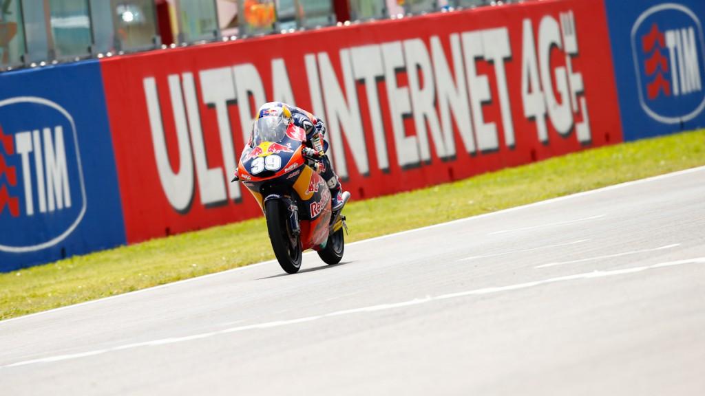 Luis Salom, Red Bull KTM Ajo, Mugello QP