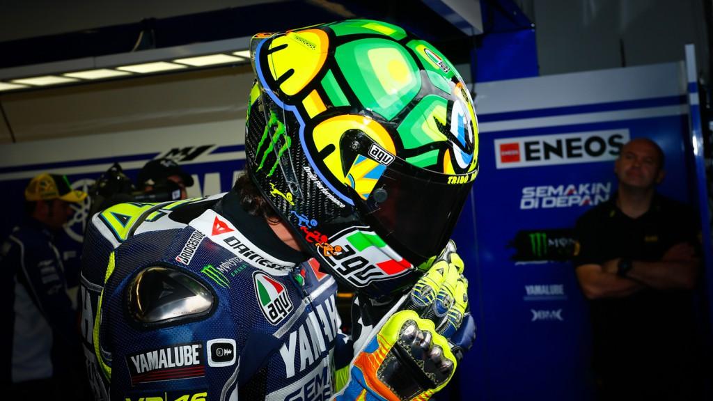 Rossi reveals 2013 Mugello helmet