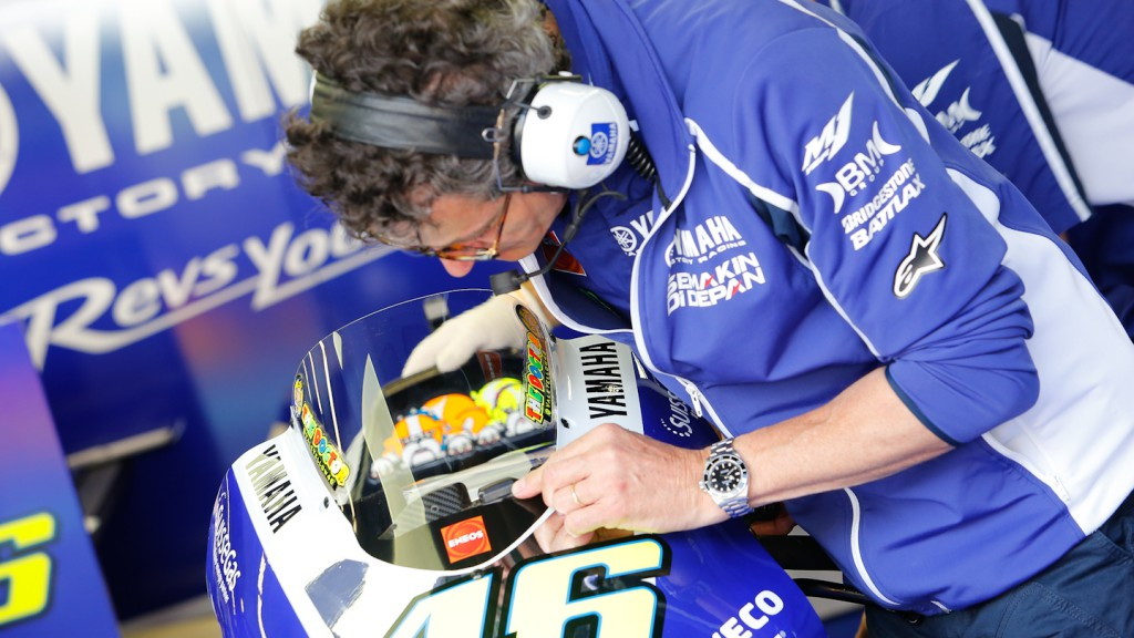 Rossi´s garage, Yamaha Factory Racing