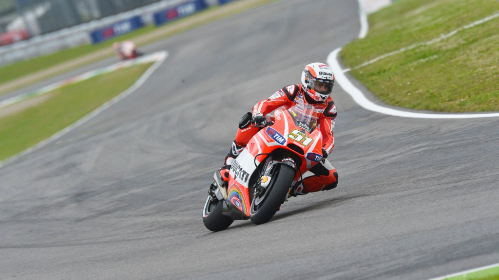 Michele Pirro, Ducati Test Team, Mugello Q2