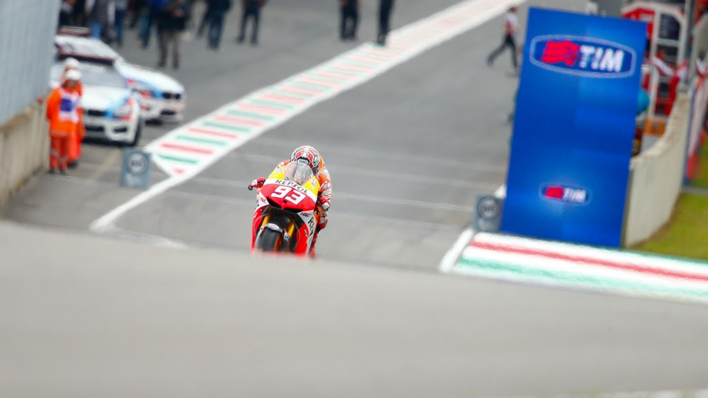 Marc Marquez, Repsol Honda Team, Mugello Q2