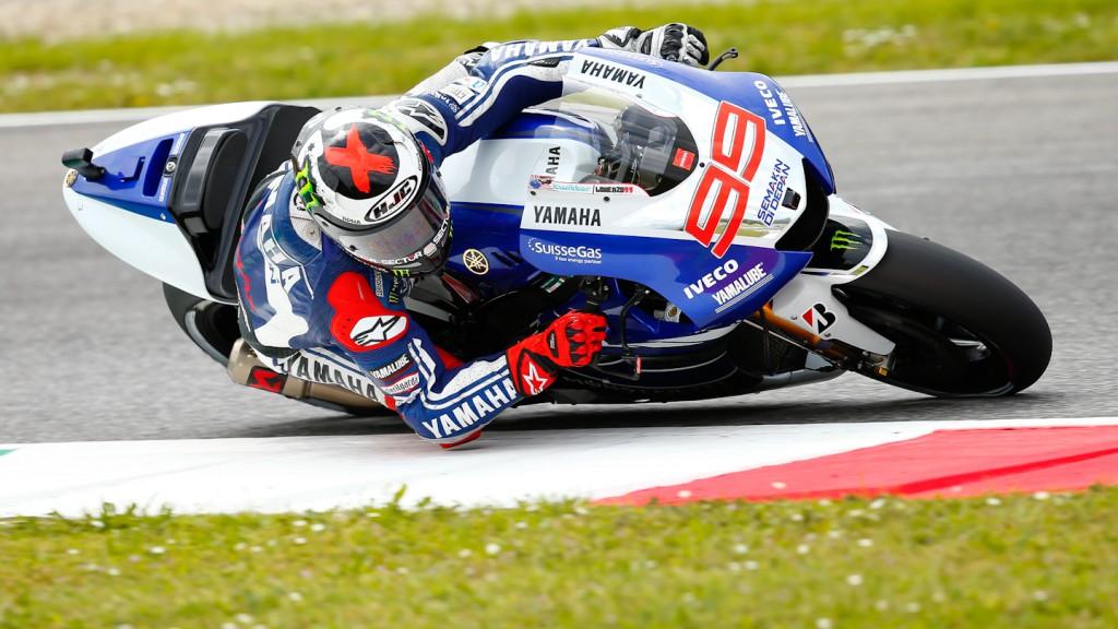 Jorge Lorenzo, Yamaha Factory Racing, Mugello FP3