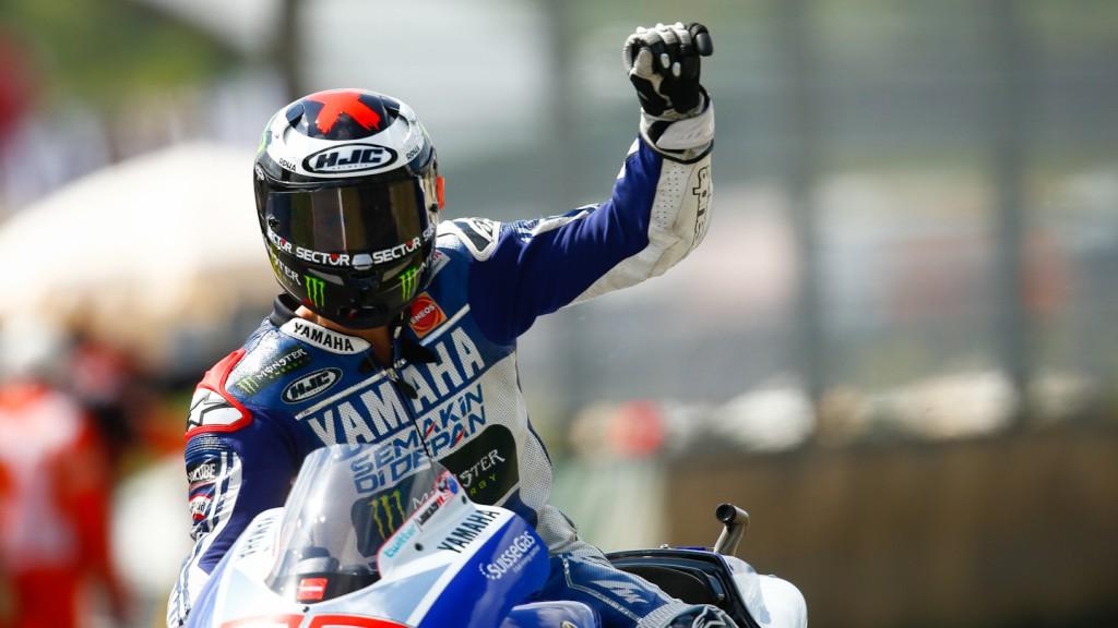 Jorge Lorenzo, Yamaha Factory Racing, Mugello Q2