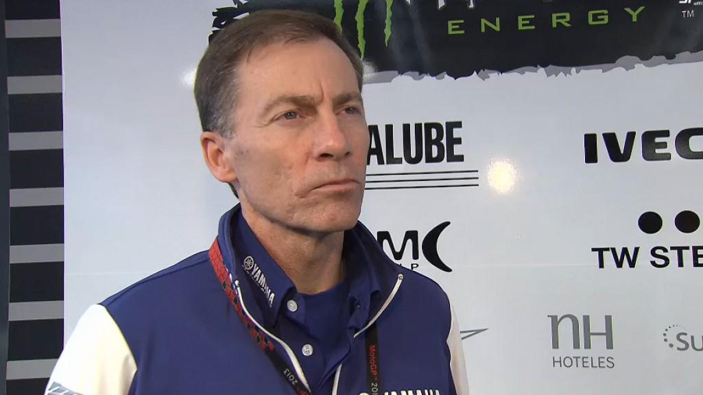 Lin Jarvis, Managing Director, yamaha Factory Racing