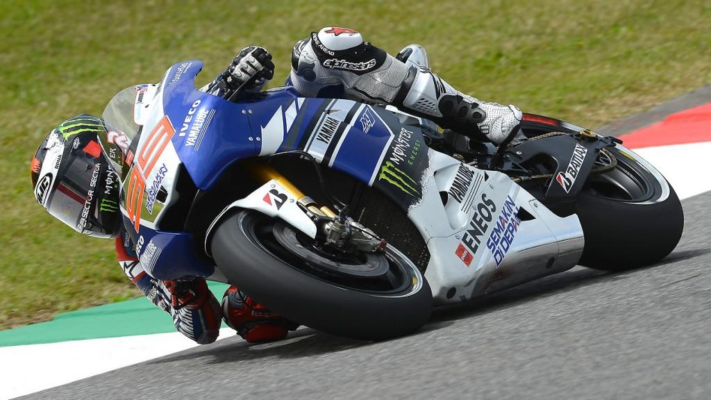 Jorge Lorenzo, Yamaha Factory Racin, Mugello Q2