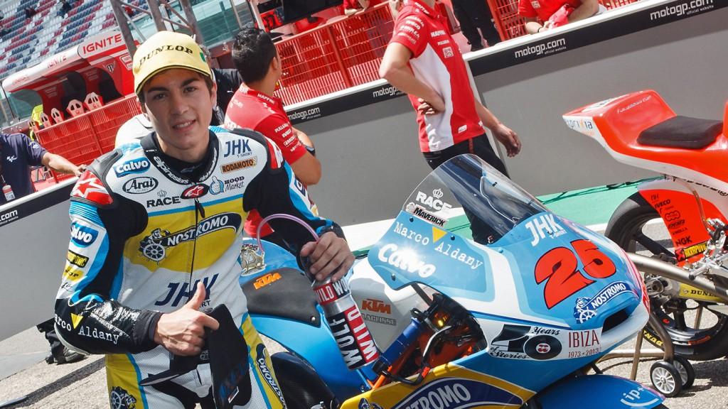Maverick Viñales, Team Calvo QP