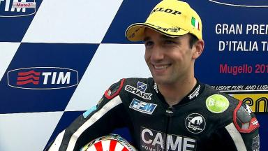 Mugello 2013 - Moto2 - RACE - Interview - Johann Zarco