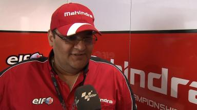 Mahindra Racing CEO Choonia 'really delighted'