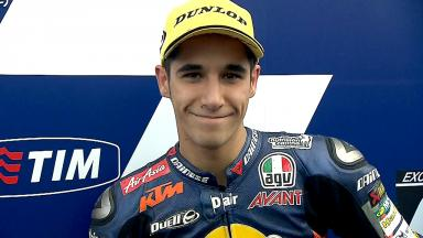 Mugello 2013 - Moto3 - RACE - Interview - Luis Salom