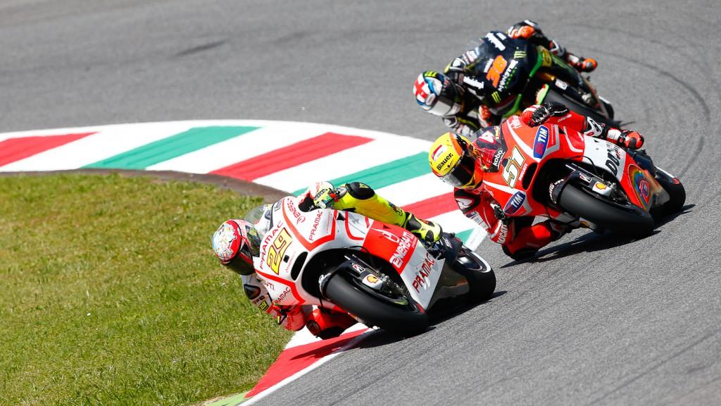 Andrea Iannone, Pramac Racing Team, Mugello RAC