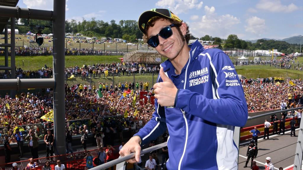 Valentino Rossi, Yamaha Factory Racing, Mugello RAC