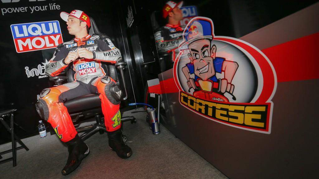 Sandro Cortese, Dynavolt Intact GP, Mugello Test