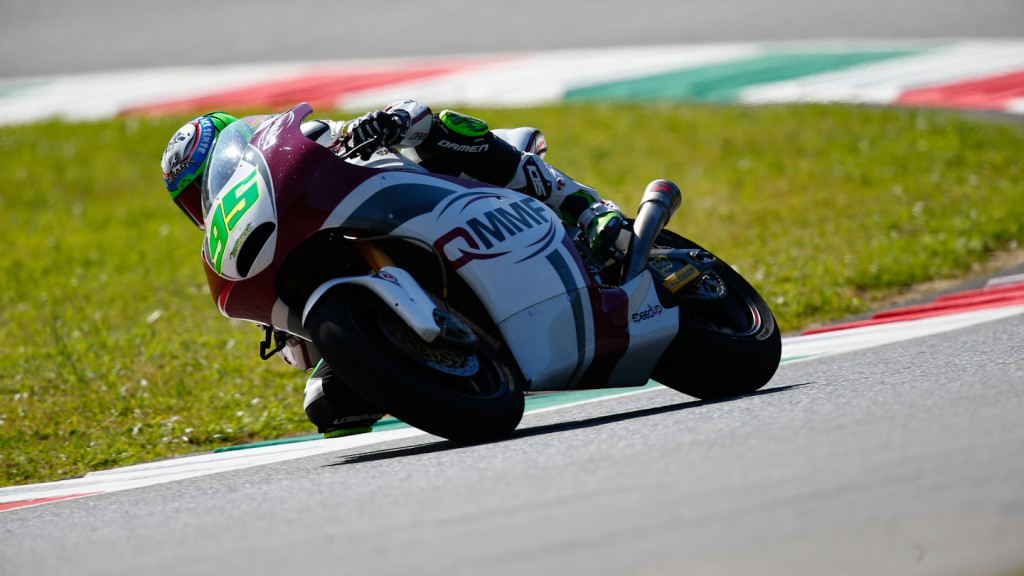 Anthony West, QMMF Racing Team, Mugello Test