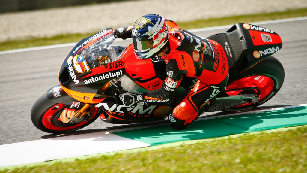 Colin Edwards, NGM Mobile Forward Racing, Mugello