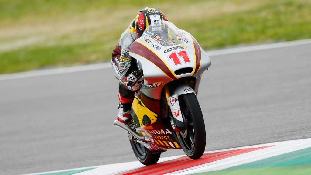 Livio Loi, Marc VDS Racing Team, Mugello Test