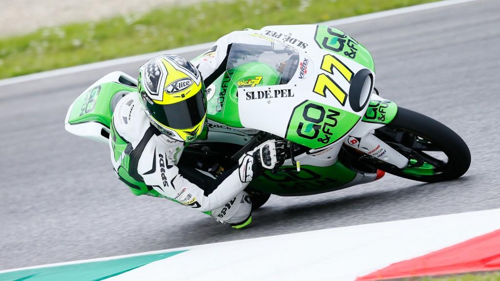 Lorenzo Baldassarri, GO&FUN Gresini Moto3, Mugello Test
