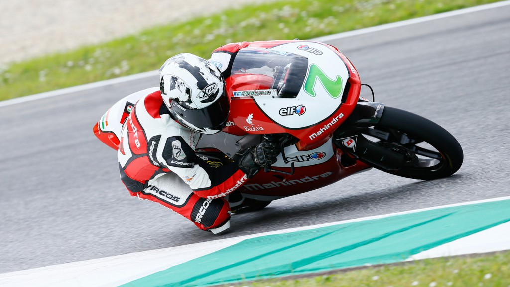 Michael Rinaldi, Mahindra Racing, Mugello Test