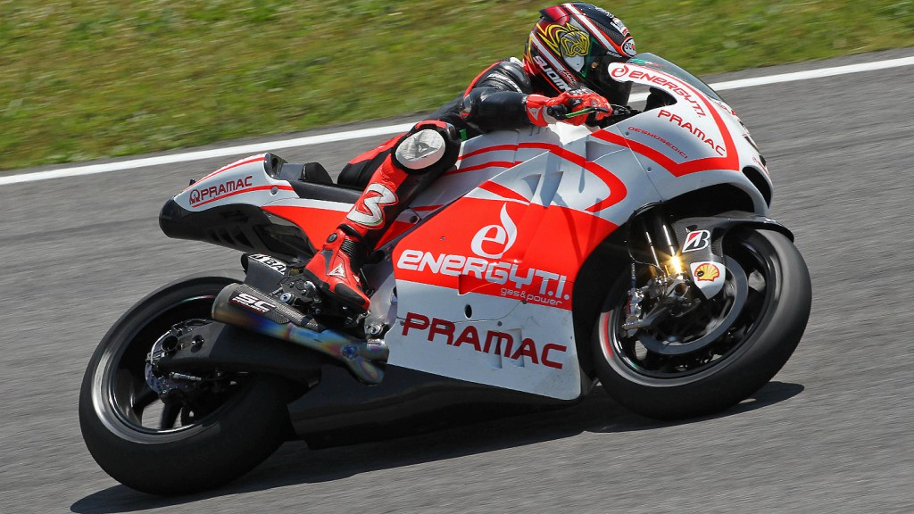 Max Biaggi, Ducati Pramac Racing Team Test - Mugello