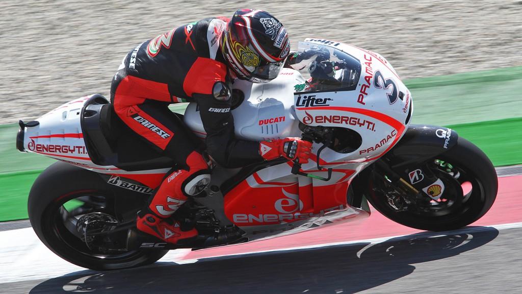 Max Biaggi, Ducati Pramac Racing Team Test - Mugello