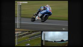Maverick Viñales has won Sunday's Moto3™ Monster Energy Grand Prix de France from pole position, thus becoming the first two-time race victor of the 2013 season. The well-judged ride at Le Mans saw the Team Calvo rider head up an all-Spanish podium from previous race winners Alex Rins and Luis Salom.