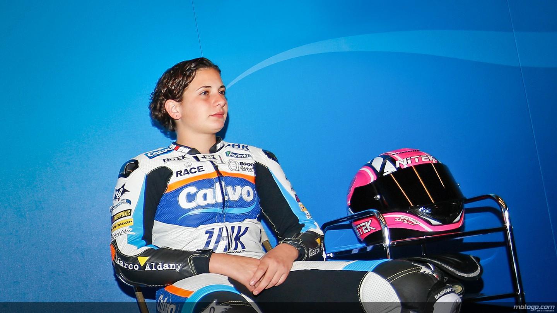 motogp.com · Ana Carrasco, Team Calvo