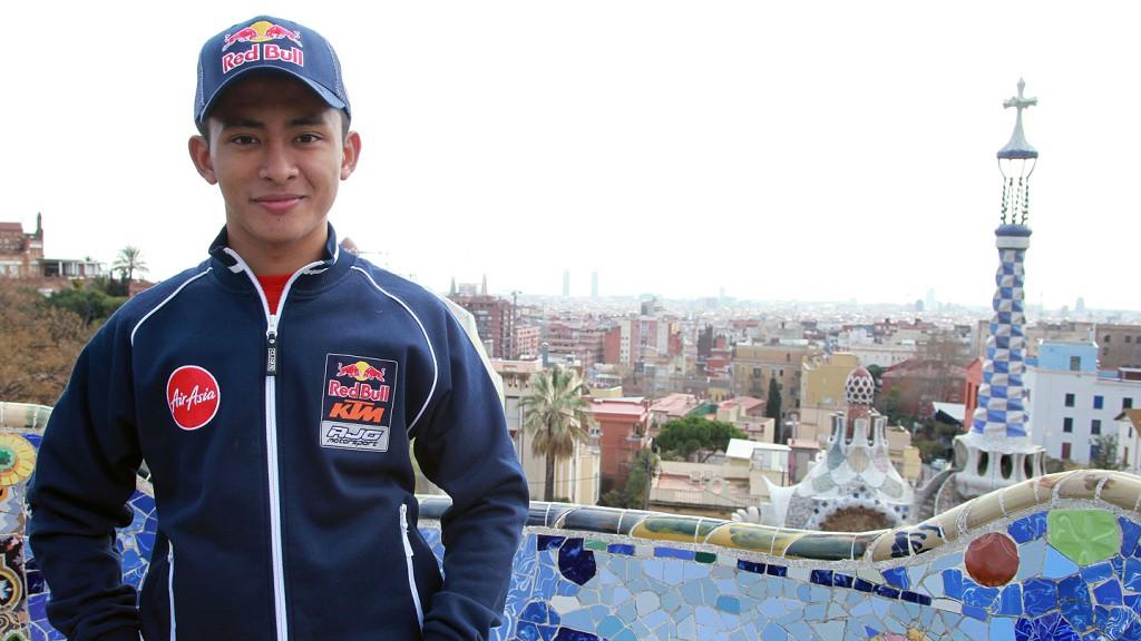 Zulfahmi Khairuddin, Red Bull KTM Ajo - Barcelona