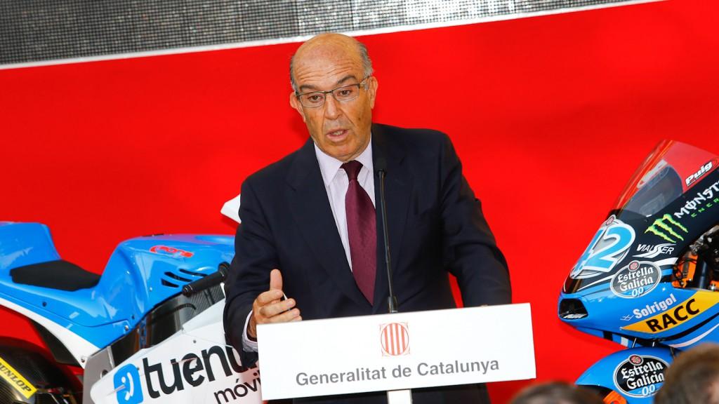 Dorna Sports CEO, Carmelo Ezpeleta, Gran Premi Aperol de Catalunya Presentation, Barcelona