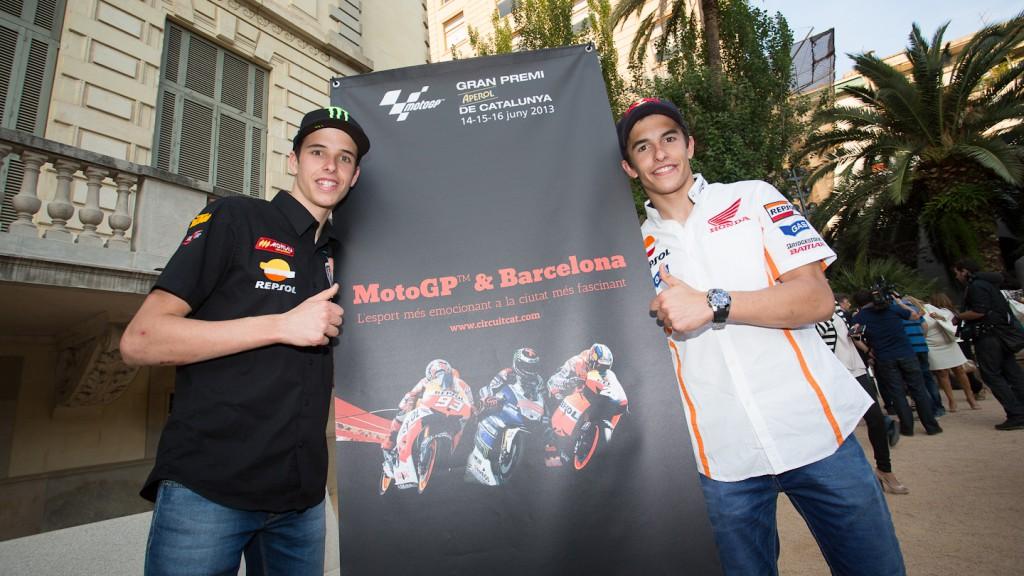 Alex and Marc Marquez, Gran Premi Aperol de Catalunya Presentation, Barcelona