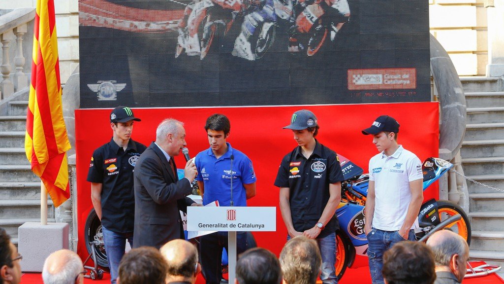 Moto3 Riders Gran Premi Aperol de Catalunya Presentation, Barcelona