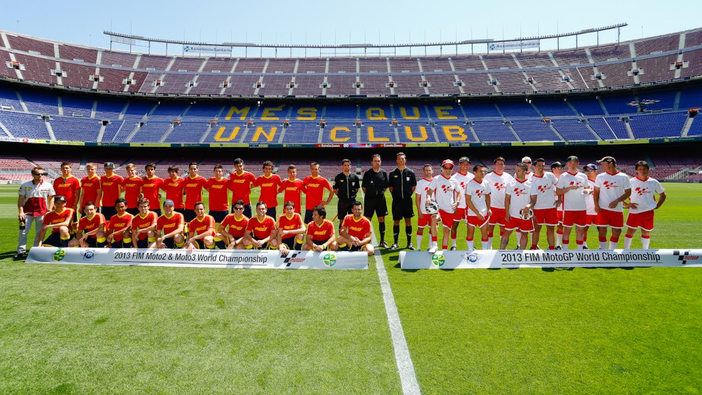 MotoGP Friendly match, Gran Premi Aperol de Catalunya, Camp Nou