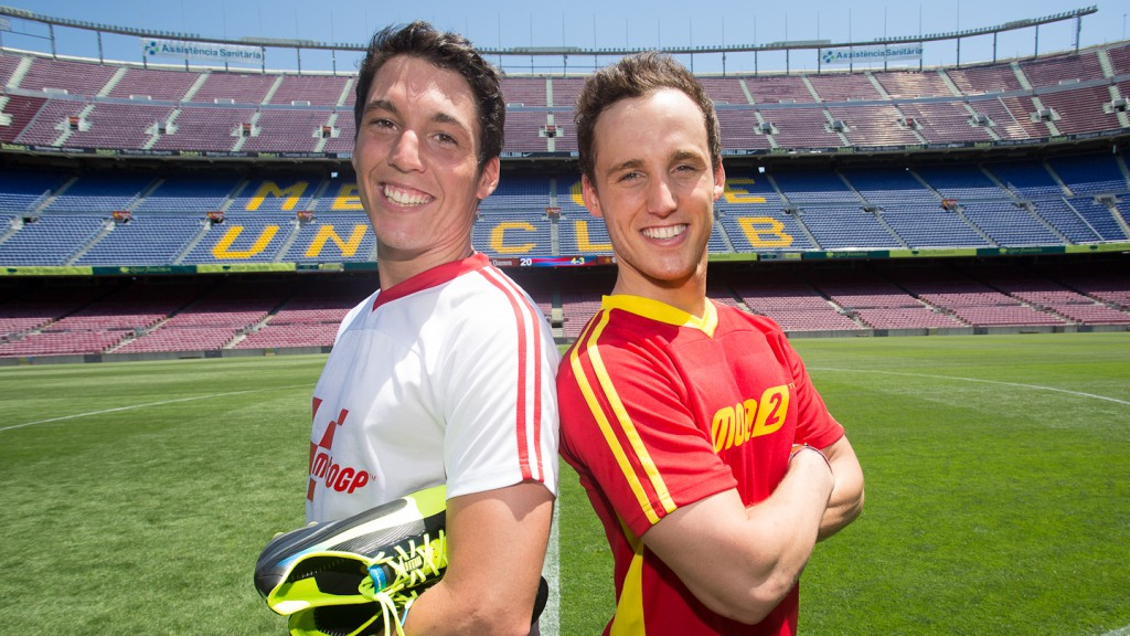 Espargaro´s brothers, MotoGP Friendly match, Gran Premi Aperol de Catalunya, Camp Nou