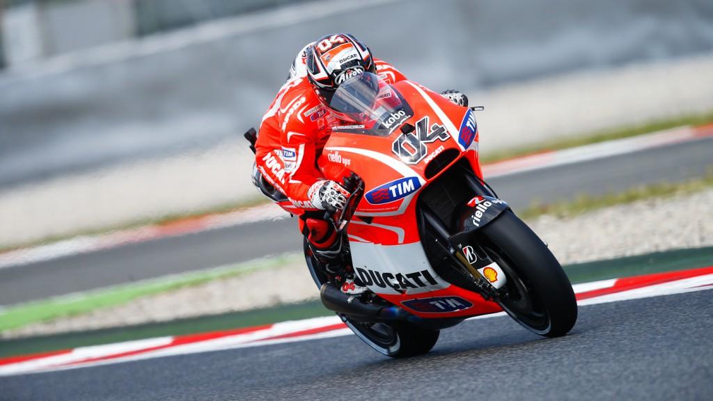 Andrea Dovizioso, Ducati Team, Montmelo FP2