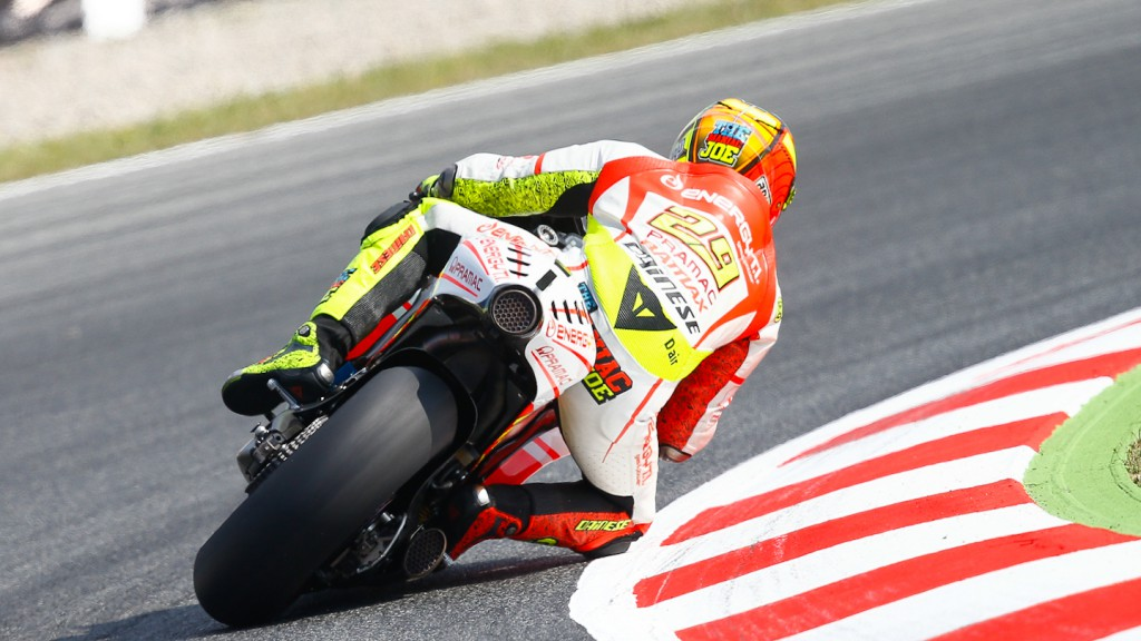 Andrea Iannone, Pramac Racing Team, Montmelo FP2