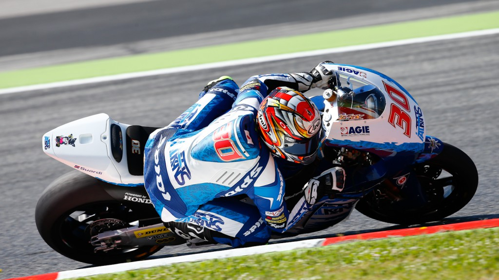 Takaaki Nakagami, Italtrans Racing Team, Montmelo FP2