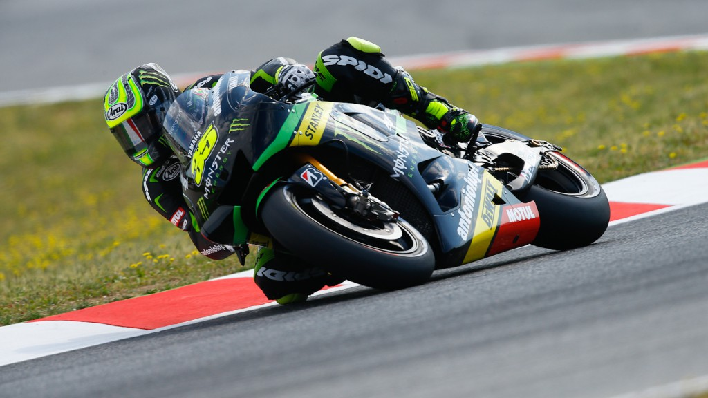 Cal Crutchlow, Monster Yamaha Tech 3, Montmelo FP2