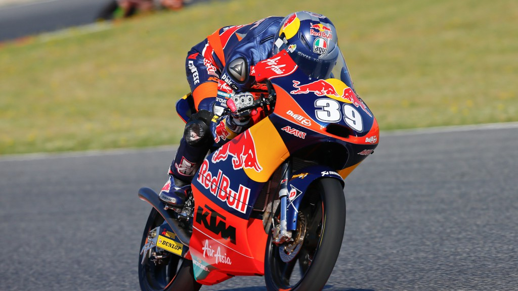 Luis Salom, Red Bull KTM Ajo, Montmelo FP1
