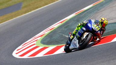 Valentino Rossi, Yamaha Factory Racing, Montmelo FP2