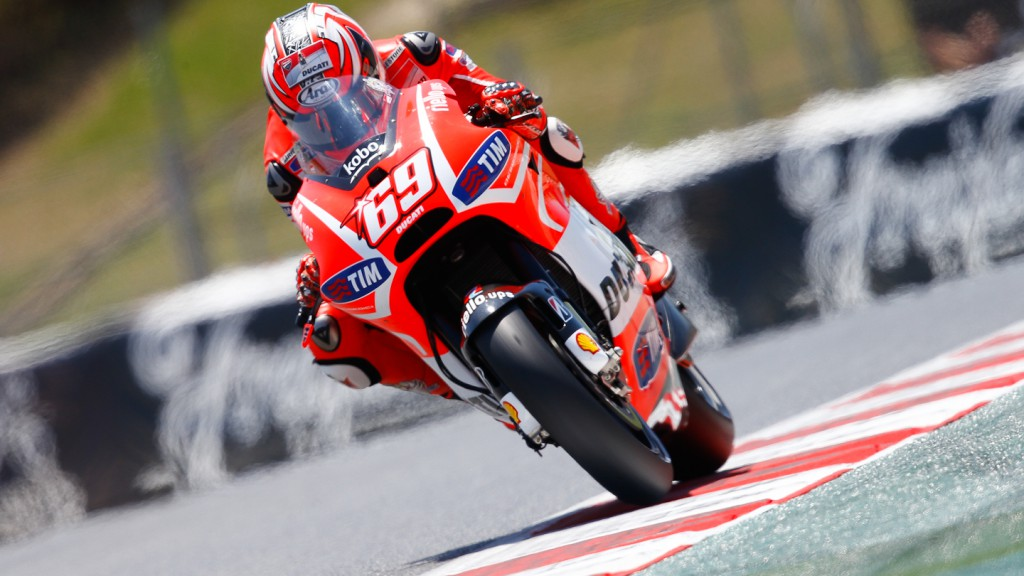 Nicky Hayden, Ducati Team, Montmelo FP2