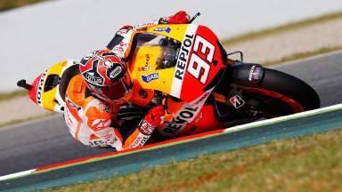 Marc Marquez, Repsol Honda Team, Montmelo FP2