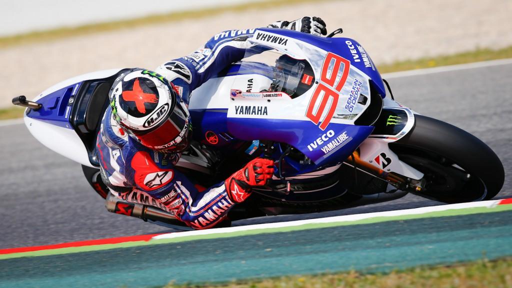 Jorge Lorenzo, Yamaha Factory Racing, Montmelo FP2