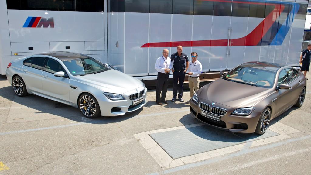 BMW M brings out the new MotoGP™ M6 at Catalunya