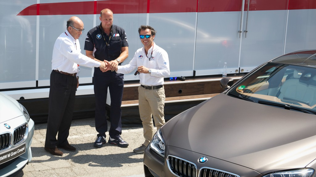BMW M brings out the new MotoGP™ M6 at Catalunya