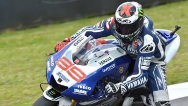 Jorge Lorenzo, Yamaha Factory Racing, Montmelo FP1