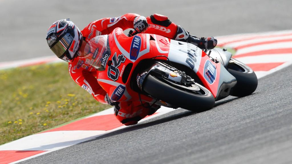 Andrea Dovizioso, Ducati Team, Montmelo Q2