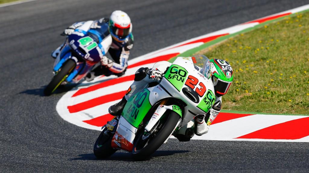 Antonelli Niccolò, GO&FUN Gresini Moto3, Montmelo FP3
