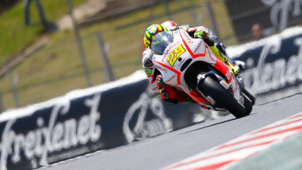 Andrea Iannone, Pramac Racing Team, Montmelo Q2