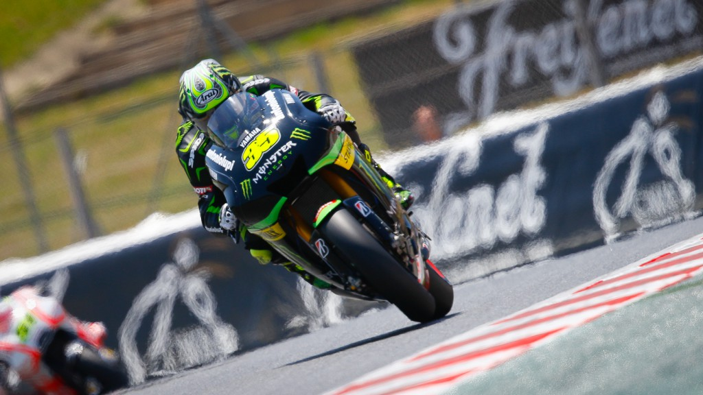 Cal Crutchlow, Monster Yamaha Tech 3, Montmelo FP3