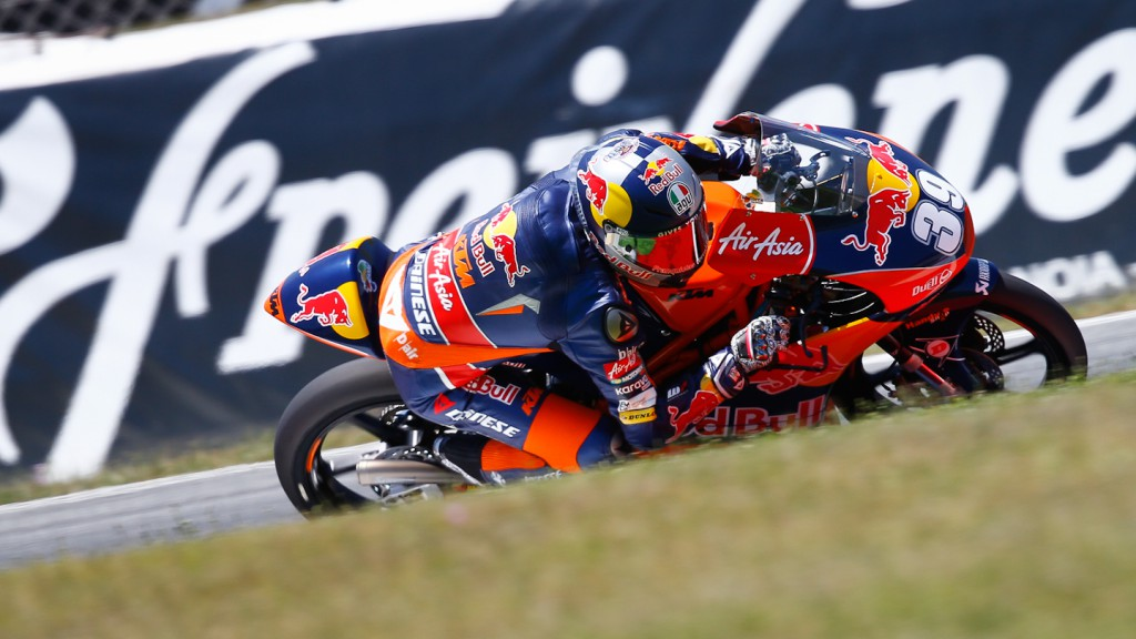 Luis Salom, Red Bull KTM Ajo, Montmelo FP3