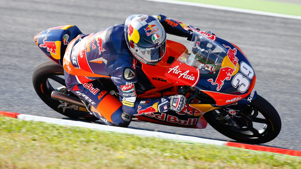 Luis Salom, Red Bull KTM Ajo, Montmelo QP